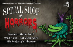 "Student Show 2013 – ""Spital Shop of Horrors"""