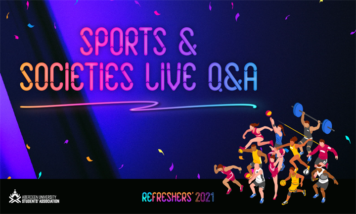 Sports and Societies Live Q&A