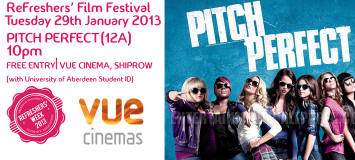RFW13 Film Festival: Pitch Perfect (12A)