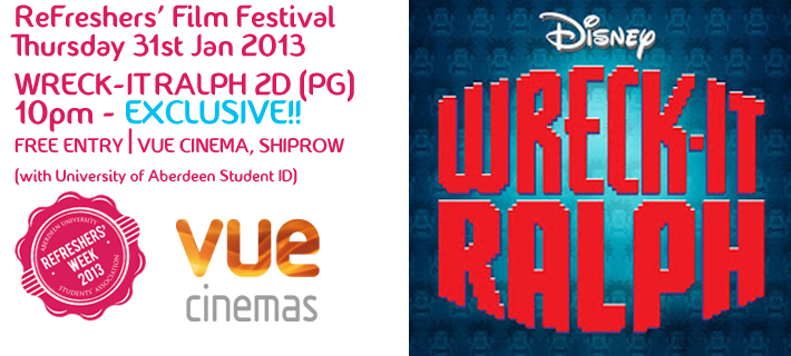 RFW13 Film Festival: Wreck-it Ralph - Exclusive